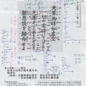 青木新門師 念仏広場