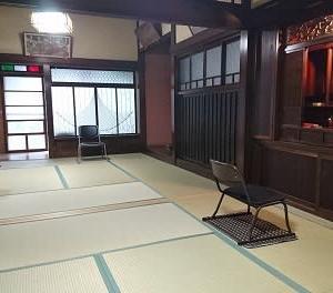 法音道場in東伊豆稲取 再開準備