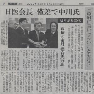 日本医師会会長選挙