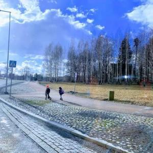 北欧フィンランド の旅(空港からスカンデック・ハカニエミホテルへ)