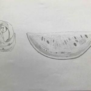 絵の練習8日目