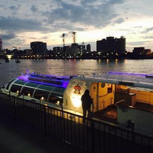 紅葉の頃の信濃川クルーズ船、最終運航は一見の価値あり!