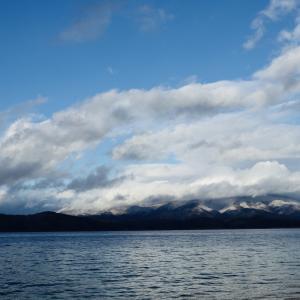 日本一深い湖「田沢湖」 雪の予報でしたが行ってきました!