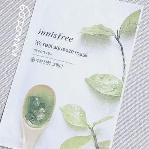 innisfree/イッツリアルスクィーズ グリーンティーマスク