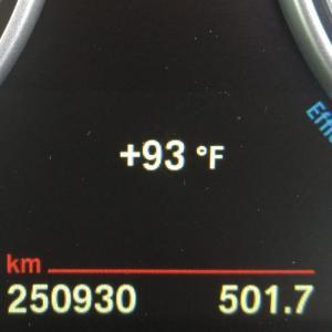 25万km超えました BMW X3 (F25) 20d Mスポーツ