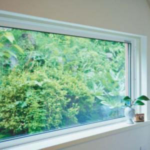 窓の数は減らしました -新築計画進行中