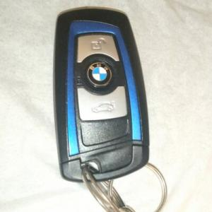 BMW F25 X3リモコンキー電池交換