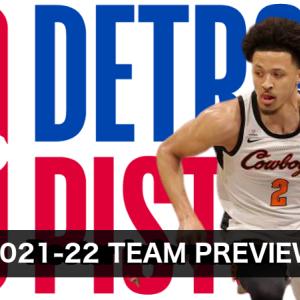 【2021-22チームレビュー】Detroit Pistons(デトロイト・ピストンズ)