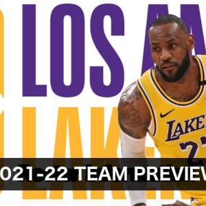 【2021-22チームレビュー】Los Angeles Lakers(ロサンゼルス・レイカーズ)