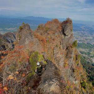 妙義山(相馬岳) 〜ヒヤヒヤドキドキ岩登り〜