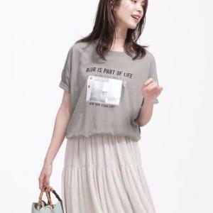 Tシャツが可愛い!大人も楽しみたい夏のTシャツコーデ15選♡