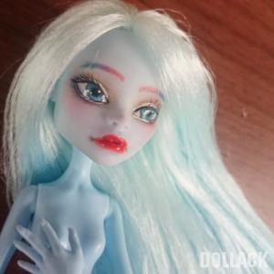 【モンスターハイドール】青い髪の子完成【リペイント】