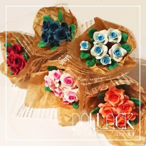 薔薇の花束1点ずつ