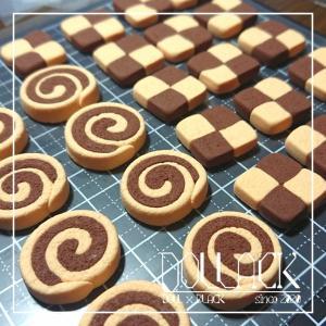 市松模様のクッキー