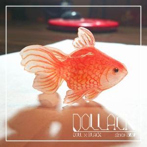 プラ板金魚