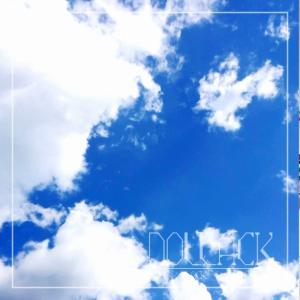 白いプラ板で吹き出し雲を