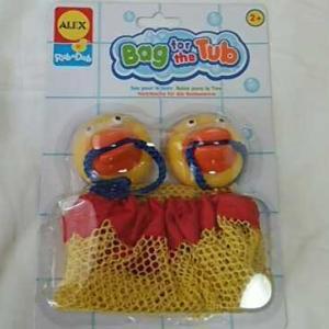 ALEX/Bag for the Tub*あひる吸盤袋 :0759-760