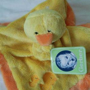 グアムで買ったあひる毛布おもちゃ :0903