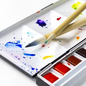 四つ切八つ切りってどんなサイズ? 画用紙サイズ一覧と、水彩絵の具が苦手な子に勧める絵の具