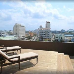市内を一望できるククルテラスが人気  石垣島ホテル ククル