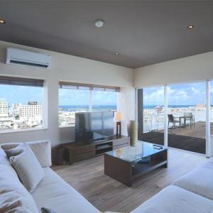 最上階からの眺望を独占!2LDKのテラス付き スカイククル石垣島