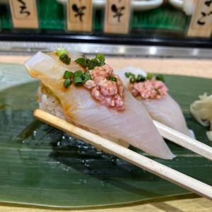 立ち食い寿司に。