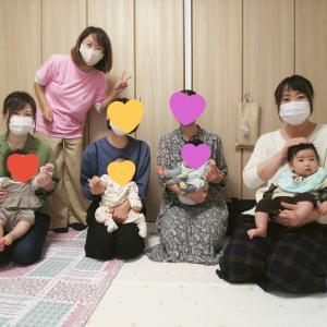 ねんねクラスには、初参加のママが多くいらっしゃっていますよー(*´︶`*)♡