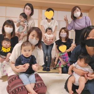 ベビマ射水小杉教室♡呉西のママも呉東のママも、一緒に楽しみました。^^