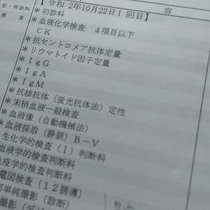 膠原病内科受診(1)/皮膚筋炎の疑い