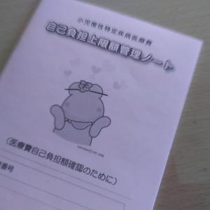 2012.12.18(金)1日がかりのネフローゼ外来(小児科、眼科、口腔外科)/心のある先生に診ていただいて感謝