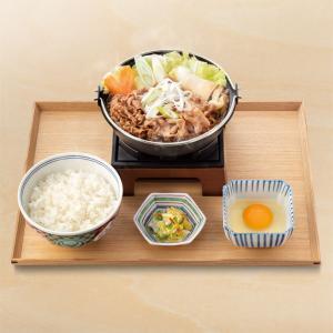 【食べてみた】吉野家:牛すき鍋御膳