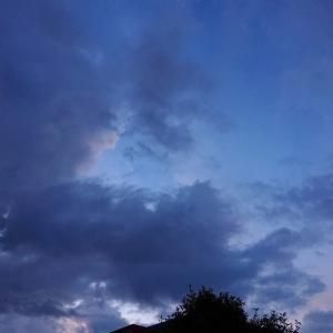 帰りに空を見よう