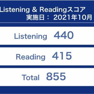 【TOEIC#018】第279回 L&R公開テスト(10月3日 午後)の結果が出ました 〜 続落でとうとうレベルBに転落!
