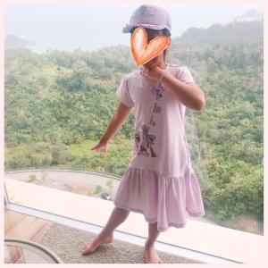 夏休みお出かけコーデ☆メゾピアノ  ポシェットワンピ