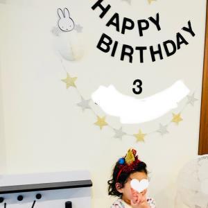 次女3歳。毎年使う飾りつけグッズは、1ヶ所にまとめて管理!