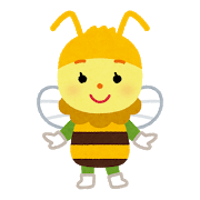 ハチとの遭遇
