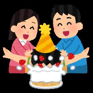 お誕生日でしたの。