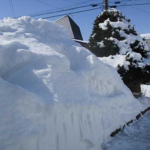雪かきや気温の激しい変化などで体調はなかなか改善せず!