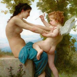 【Relaxing Healing and Art】ウィリアム・ブグロー William Bouguereau(LAmour et Psyché enfants1890)