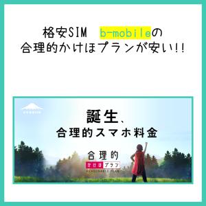 アプリ無しの音声通話かけ放題を比較した結果、b-mobileが1万円以上安い!?