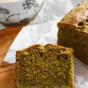 レシピあり【抹茶のパウンドケーキ】と【自家製酵母ピザ】