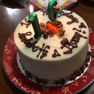 誕生日会を兼ねて晩めし、UBER EATS