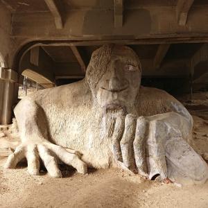 Fremont Troll(巨人の彫刻)を見に行ってきた!