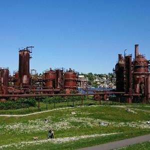 シアトルで人気の公園!ガスワークスパークに行ってきた!