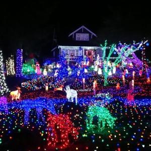 シアトルの豪邸のXmasイルミネーション「Keener's Christmas Lights」に行ってきた!