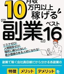 月収月10万円以上稼げる 副業ベスト16