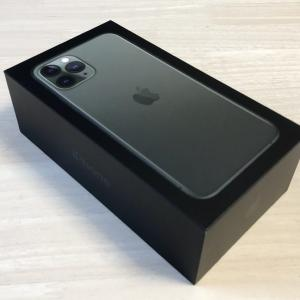 【iPhone】iPhone 11 Pro 購入しました!【開封レビュー】