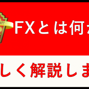 FXとは何か 分かりやすく解説