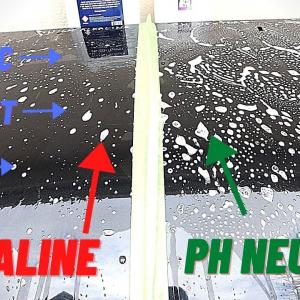 High Alkaline V PH Neutral Car Wash Products Degrading Wax, Sealant & Ceramic Coatings