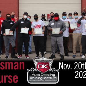 Start Your Own Car Detailing Business | Detail King Craftsman Training Class November 20th – 22nd